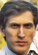 Bobby Fischer, who was portrayed by Tobey Maguire in the Pawn Sacrifice chess movie. See more Fischer pics here: http://www.historyvshollywood.com/reelfaces/pawn-sacrifice/