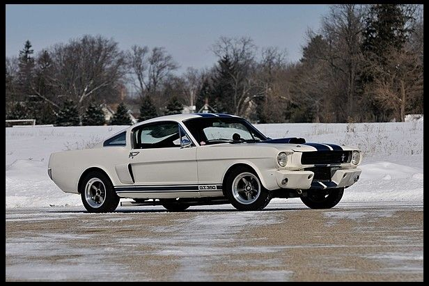 1966 Shelby GT350 Fastback Herbert Mueller's GT350 at Mecum Auctions