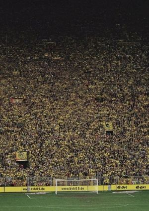 THE WALL !!! Borussia Dortmund♥  my dream is to go here and be part of this mighty wall . hope it comes true