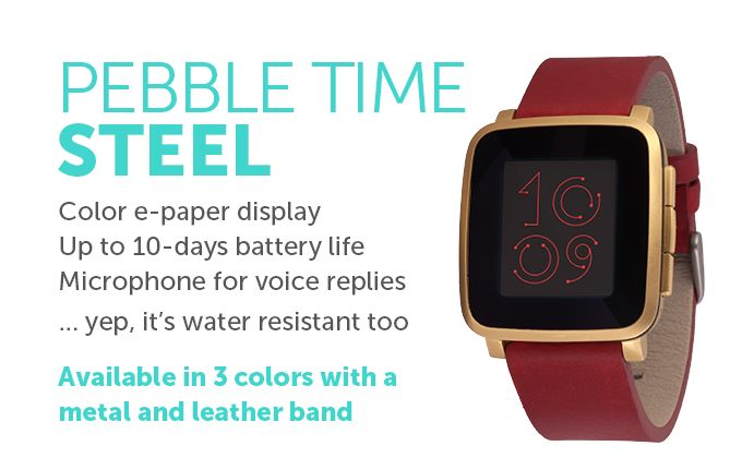 Color e-paper smartwatch with up to 7 days of battery and a new timeline interface that highlights what's important in your day.