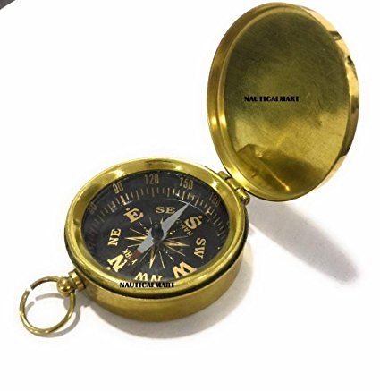Dalvey Brass Pocket Compass~ Christmas Gift By NauticalMart