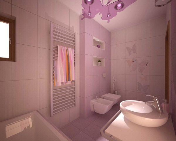 16 Refreshing Bathroom Designs מתלה מגבות
