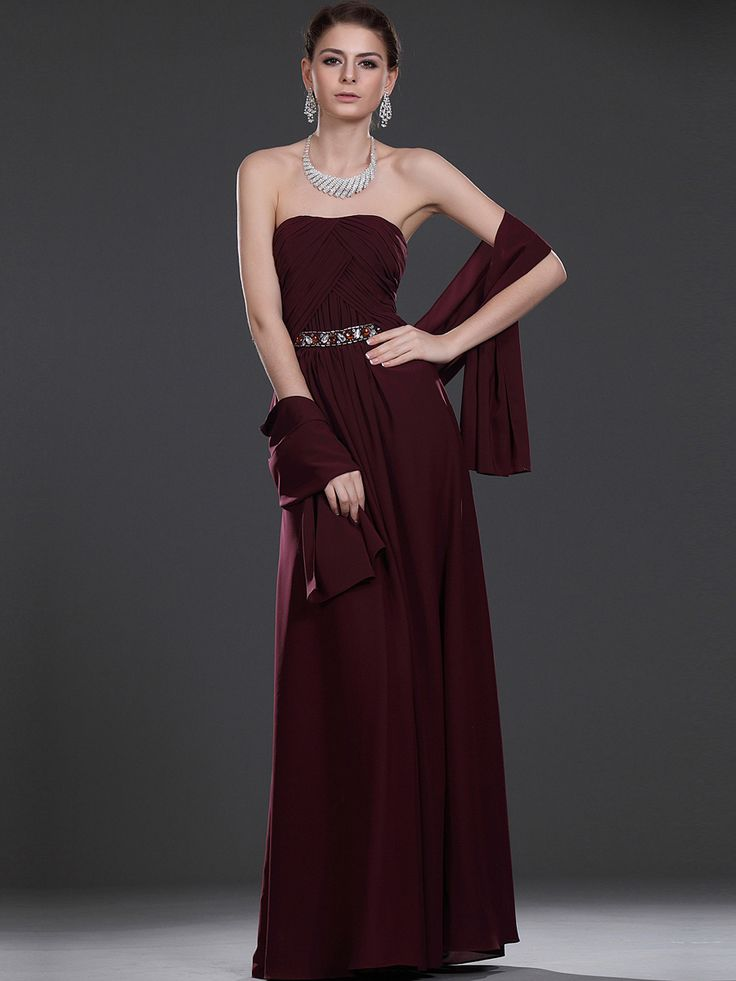 Chiffon Sheath Mother of the Bride Dress with Rhinestone and Shawl Brands:MeiMeiNew Product:YESFreeship:YESModel Name:MacyTailoring Time (Standard):15-20 DaysTailoring Time (Rush Order):10-15…
