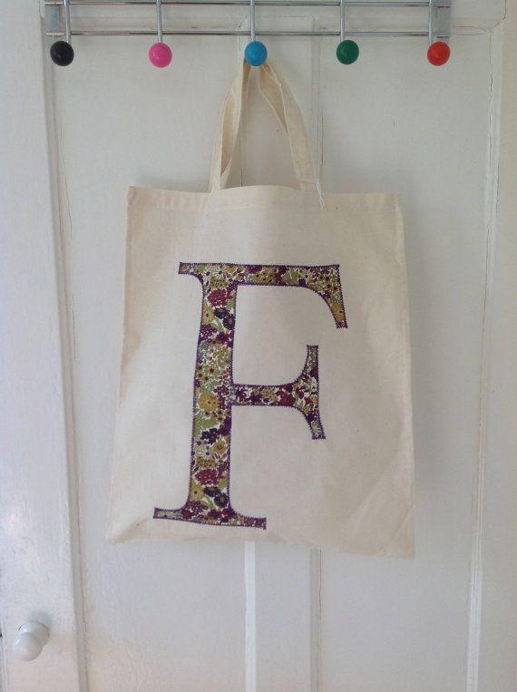 Monogramm Liberty margaret annie Alphabet by Anecdotalist on Etsy, £12.00
