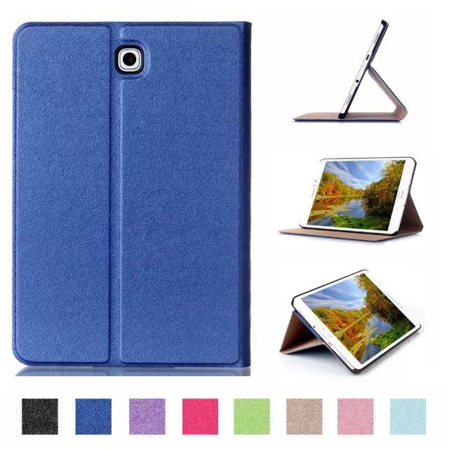Magnetic Stand pu leather Case cover For Samsung Galaxy Tab S2 8.0 T710 SM-T715 T715 8'' tablet cover case + screen film as gift #Affiliate