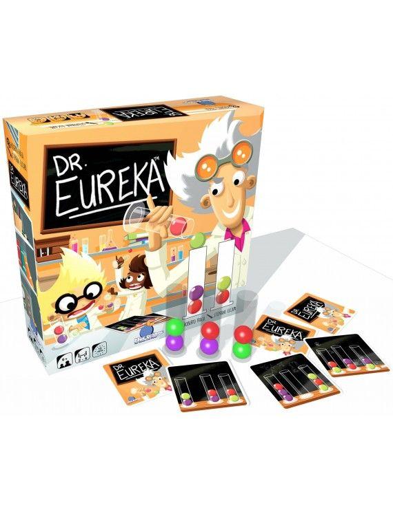 Dr Eureka necesita ayuda para completar sus experimentos. Intercambia las bolas de colores entre los tubos de ensayo para conseguir el orden correcto. Sé más rápido que los demás jugadores y conviértete en el científico más brillante.  7+ años.