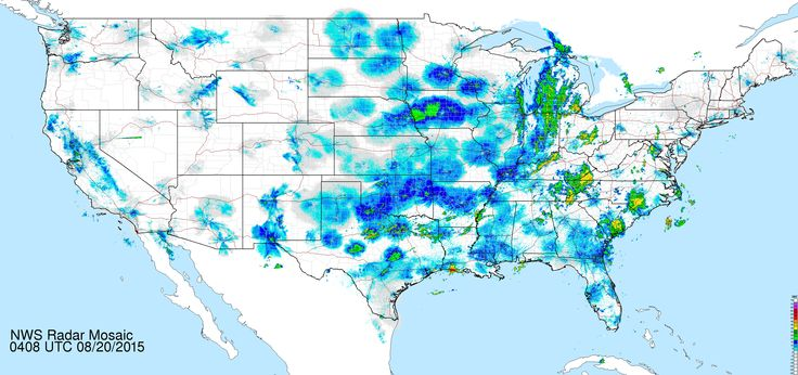 National Mosaic Radar Image Full Resolution Loop