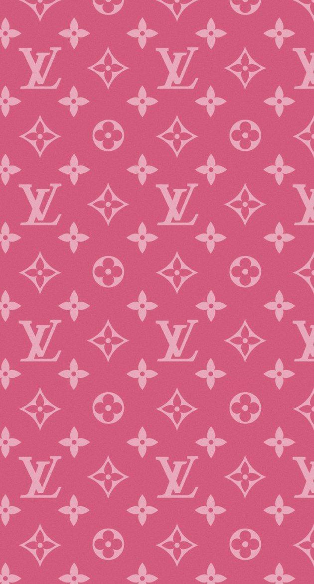 ルイヴィトンのピンクモノグラム iPhone壁紙 Wallpaper Backgrounds iPhone6/6S and Plus  Louis Vuitton Monogram Pink iPhone Wallpaper