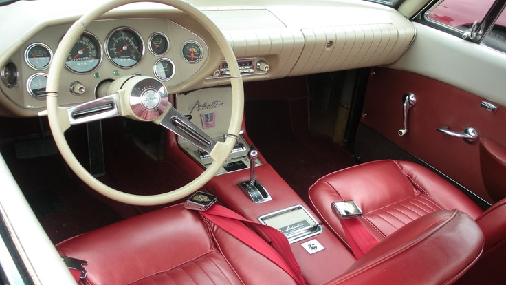1962-1963 Studebaker Avanti interior | Cars I Like ...