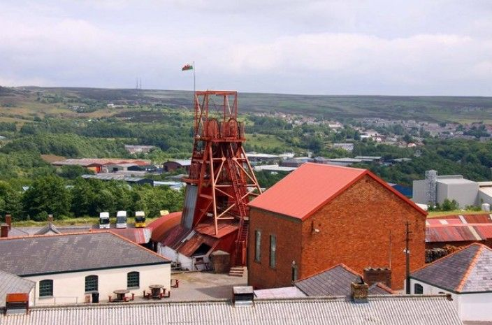 The Big Pit, Blanaevon, Wales (2016)