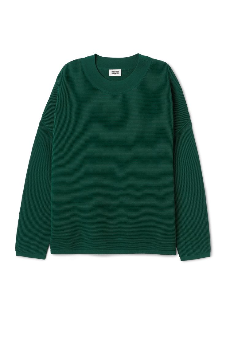 Weekday image 11 of Lea Sweater in Green Bluish Dark