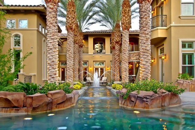 Luxury Las Vegas Home Swimming Pool #yard #backyard #design #house ...