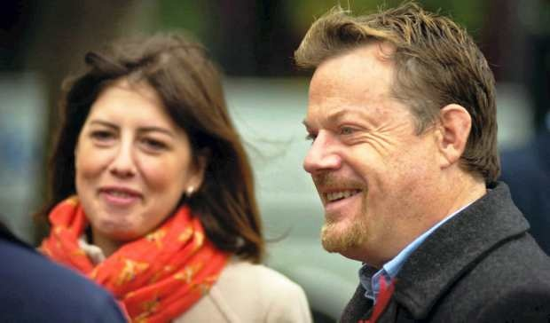 Labour in Manchester: Eddie Izzard joins candidate Lucy Powell campaign trail