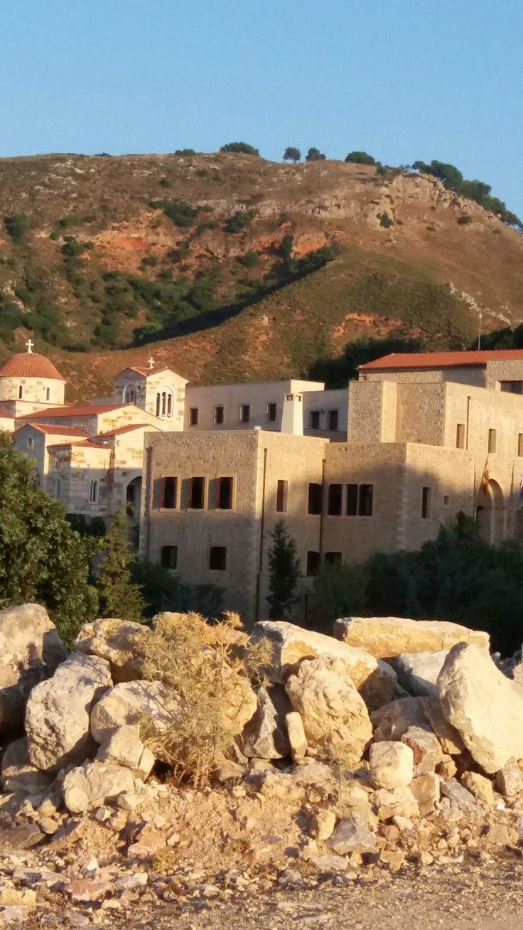 Κάστρο Ι.Μονη Χρυσοπηγής Χανιά