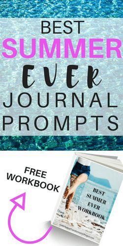 Summer Journal Prompts - Radical Transformation Project #mentalhealth #journalprompts #journal #summer