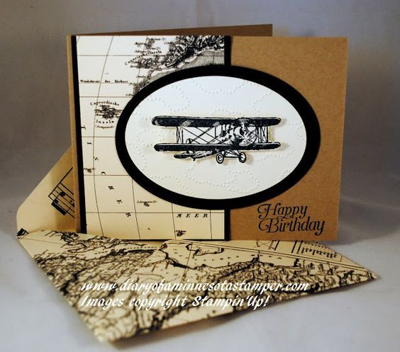 masculine birthday by stamplady102 - Cards and Paper Crafts at Splitcoaststampers                                                                                                                                                      More
