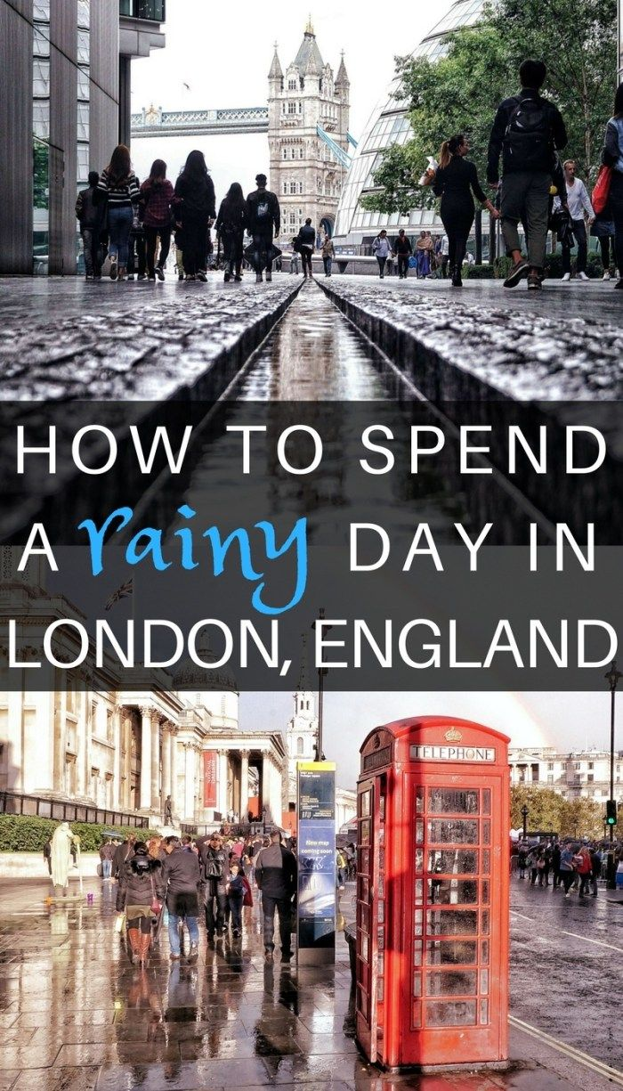 How to spend a rainy day in London, England- Ideas, Inspiration and things to do for when it rains in the UK's capital! (1)