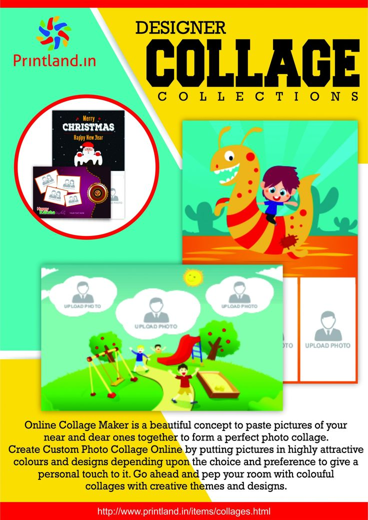 Collage Maker Online - Make Photo Collages in India - Printland.in Infographic