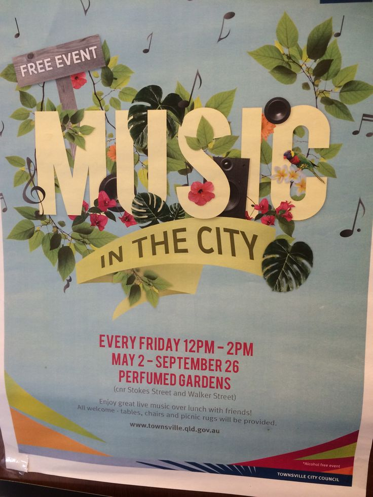 Free music in the city