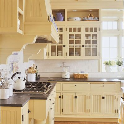 White Kitchen Yellow Cabinets best 25+ ivory kitchen ideas on pinterest | farmhouse kitchens
