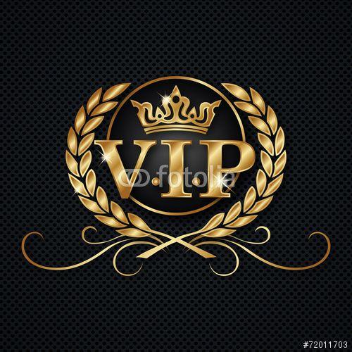 Vector: VIP logo | wall murales | Vip logo, Vip, Logos