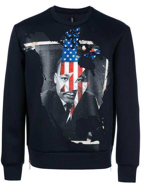 Neil Barrett Martin Luther King sweatshirt