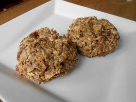 Biscuits aux dattes et aux noix... sans sucre !