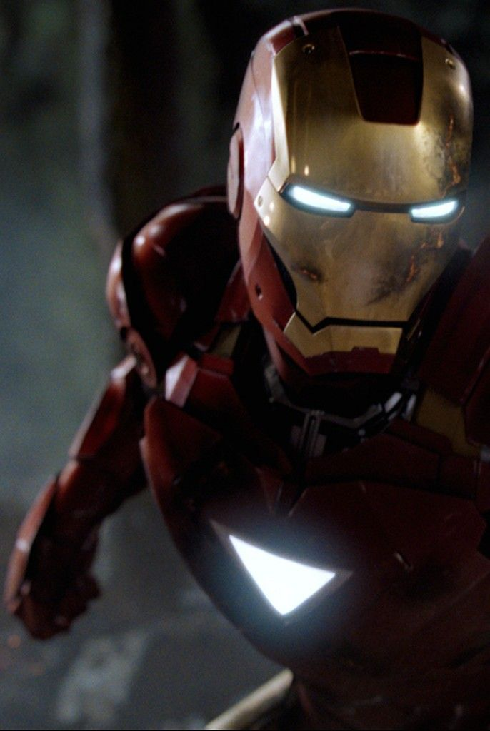 "Iron Man (The Avengers, 2012) ""A little scraped up ...