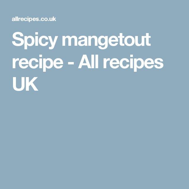 Spicy mangetout recipe - All recipes UK