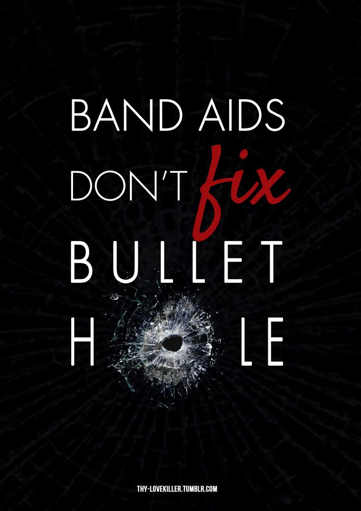 Band aids don't fix bullet hole.. you say sorry just for show. #taylorswift #badblood #graphicdesign #typography