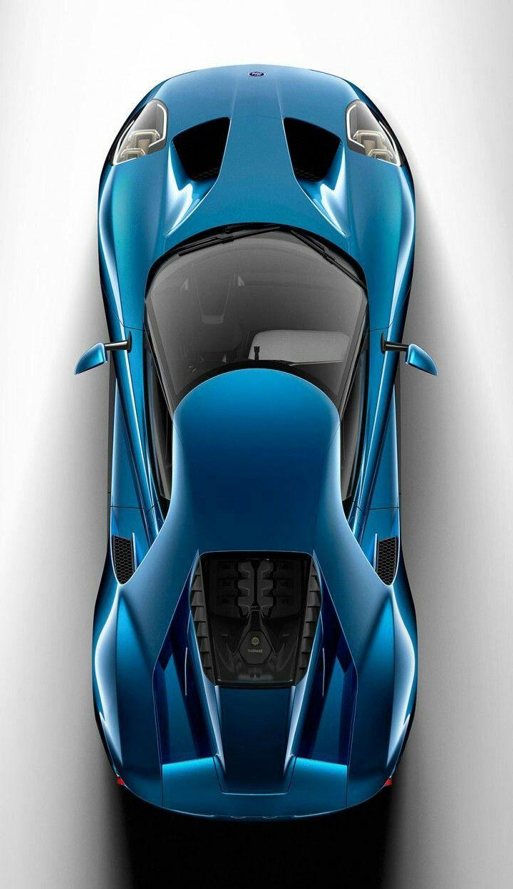 2017 ford gt liquid blue