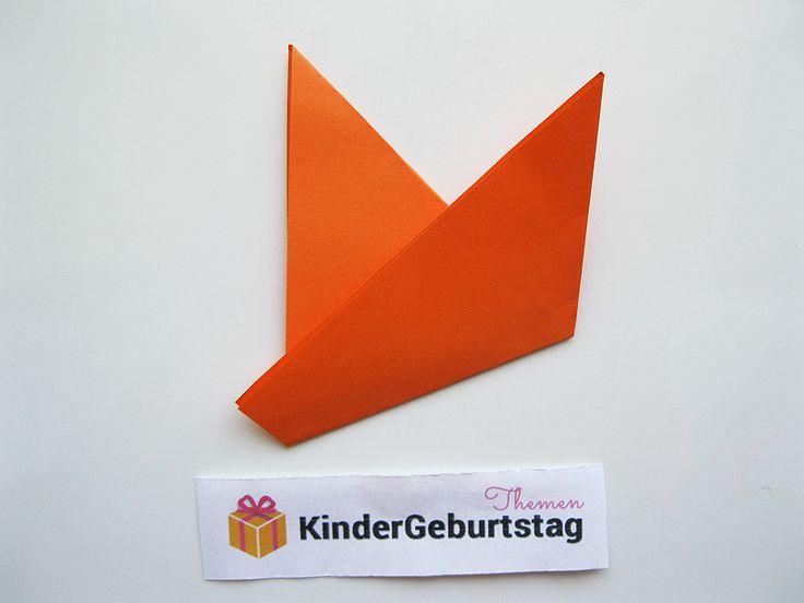 die besten 25 origami fuchs ideen auf pinterest. Black Bedroom Furniture Sets. Home Design Ideas