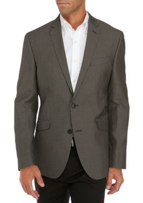 Kenneth Cole Reaction Men's Price Sport Coat - Black/White - 46 Regular