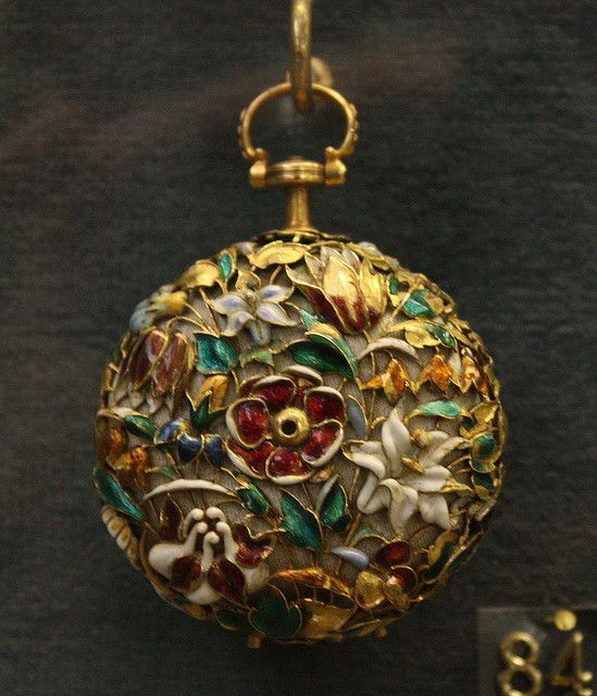 Antique pocket watch. This is so beautiful...the work that was put into things like this truly amazes me.