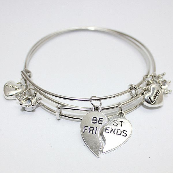 Best Friend Charm Bracelet: 17 Best Ideas About Best Friend Bracelets On Pinterest