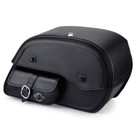 Kawasaki Vulcan 900 classic large side pocket motorcycle saddlebags. We offer luggage and motorcycle bags. Hard and Leather Saddle Bags. Lowest Prices. Shop Now!