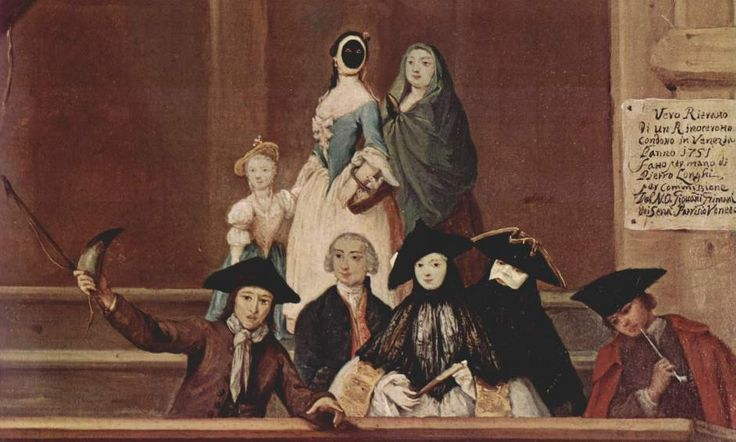 Pietro Longhi, Exhibition of a Rhinoceros at Venice, ca. 1751, National Gallery, UK