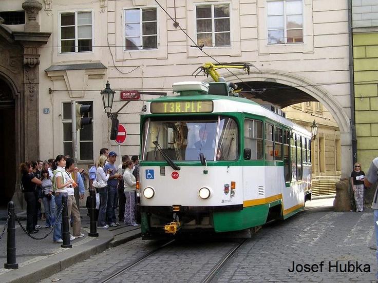 Liberec's tram in Prague!