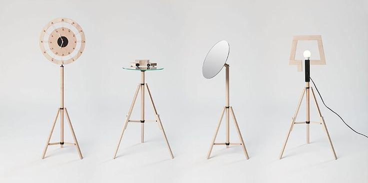 Bartosz Mucha, Tripod, photo: courtesy of the designer