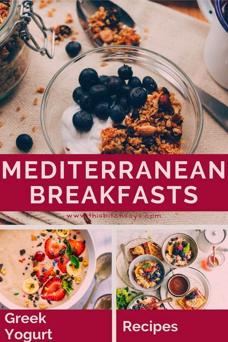Wondering What To Eat For Breakfast On The Mediterranean Diet Use