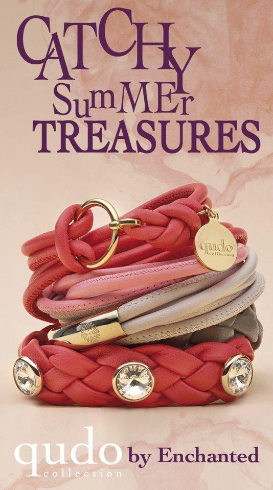 #Qudo, #bracelets, #leather, #Enchanted, #Biba