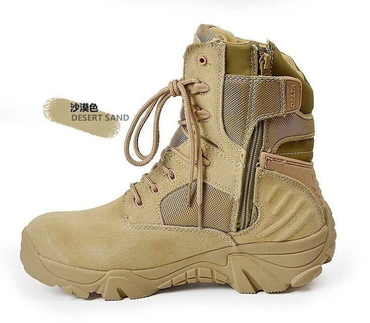38.69$  Watch now - http://aicrg.worlditems.win/all/product.php?id=32637851544 - Men Military Boots special forces tactical desert combat boots outdoor shoes army boots Infantry Desert tactical Boots
