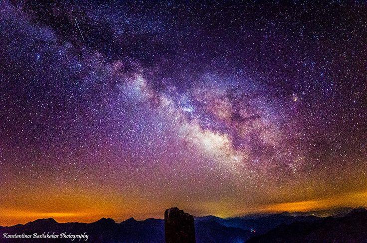 Ο Γαλαξίας Μας Photo Credit: Konstantinos Basilakakos Photography