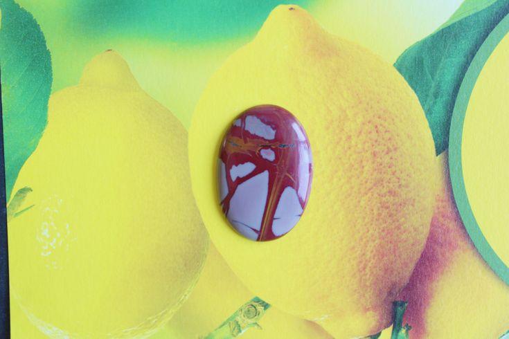 Stock Clearance Super Sale 30.71 carat natural splashed Noreena Jasper by colorvilla on Etsy