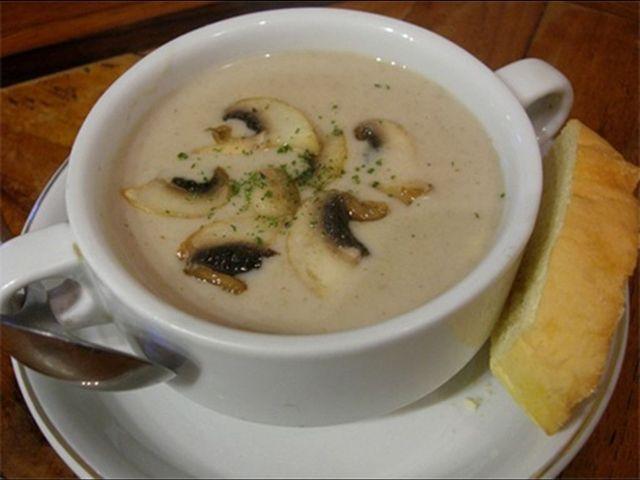 Žampionová polévka - | Prostřeno.cz