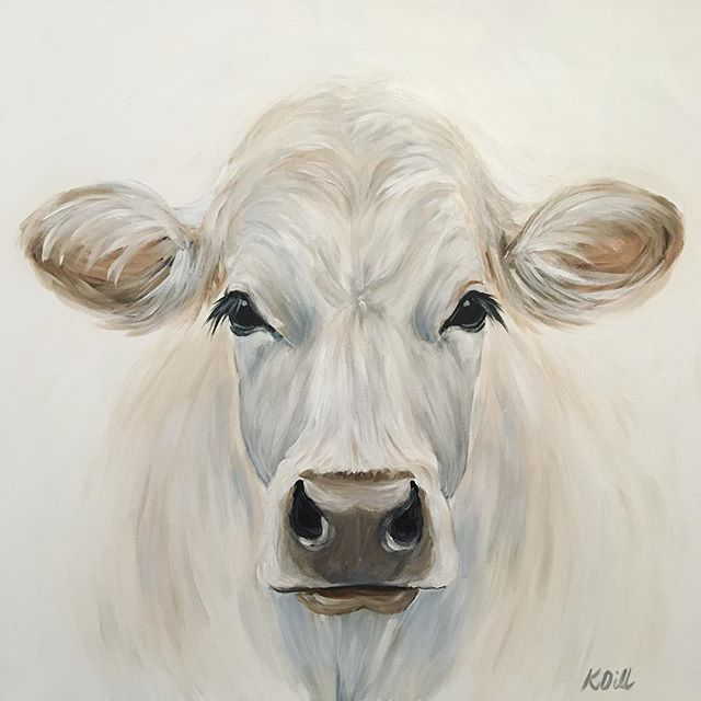 White On White Painting Art Originalart Tucsonart Instaart
