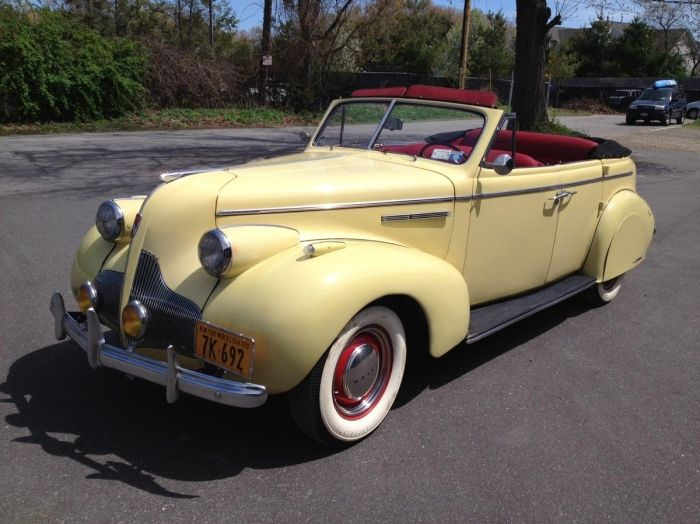 1939 buick 41 4 door convertible phaeton for sale hemmings motor news classic auto trader. Black Bedroom Furniture Sets. Home Design Ideas