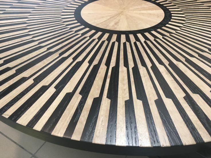 Blat stolika intarsja - dekor8 - Stoliki kawowe