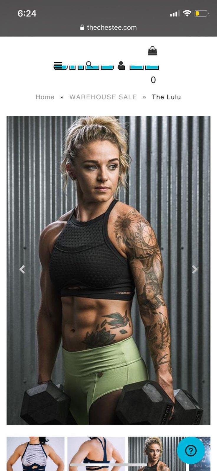 Pin by Heidi Jo on Motivation in 2020 Female crossfit