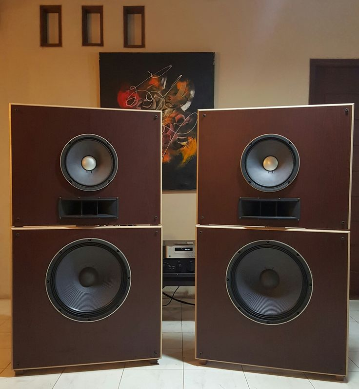 This Is A Do It Yourself Open Baffle Solid Wood Speaker Kit